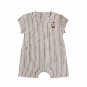 Auntie Me  Organic Paint & Brush Short Jumpsuit