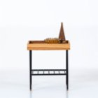 Ananas Woodworking Edge Short Table