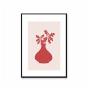 Normmade  Red Bells 2  Art Print