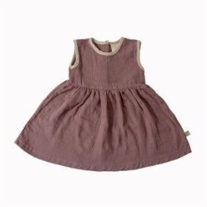 Miela Kids  Organic Pina Muslin Dress