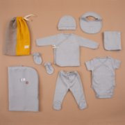 Boh The Label	  Organic Essential Newborn Set