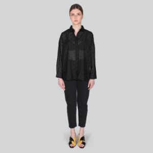 Gardrop Studio 900  Black Tulle Shirt