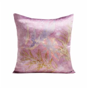 Tien Officiel  Handcrafted Natural Dye Silk Cushion VIII