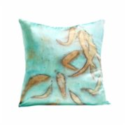 Tien Officiel  Handcrafted Natural Dye Silk Cushion X