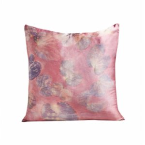 Tien Officiel  Handcrafted Natural Dye Silk Cushion XV