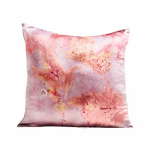 Tien Officiel  Handcrafted Natural Dye Silk Cushion XVIII