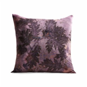 Tien Officiel  Handcrafted Natural Dye Silk Cushion XXVIII