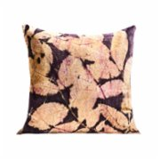 Tien Officiel  Handcrafted Natural Dye Silk Cushion XXIX