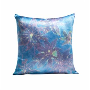 Tien Officiel  Handcrafted Natural Dye Silk Cushion XVII