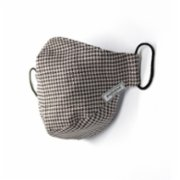 Endemique Studio  Houndstooth Brown Washable Face Mask