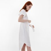 Juneandlin  Ephesus Linen Dress
