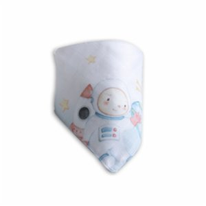 Nilue  Astronaut Muslin Collar