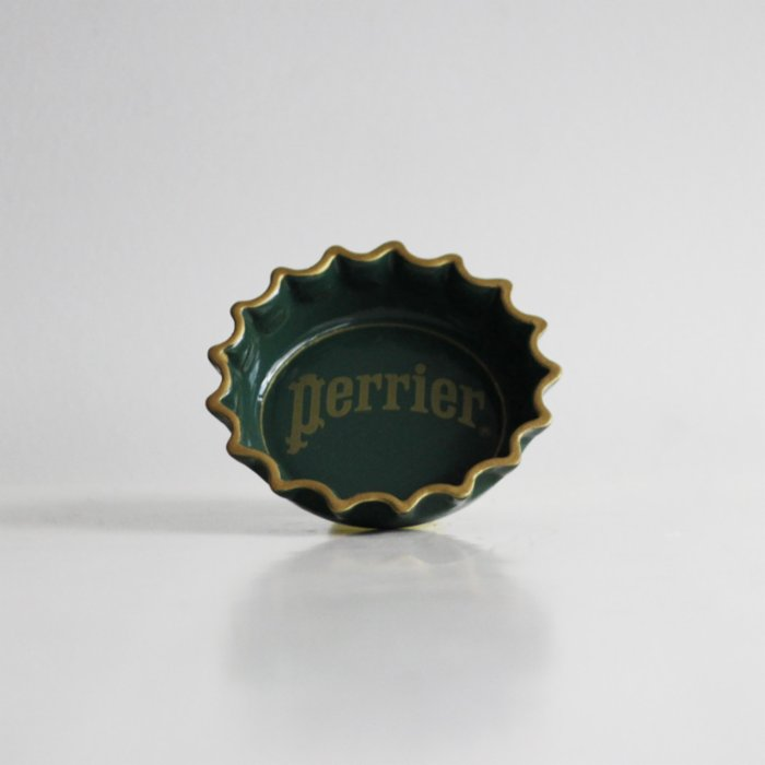 Tuhafier Perrier Vintage Ashtray