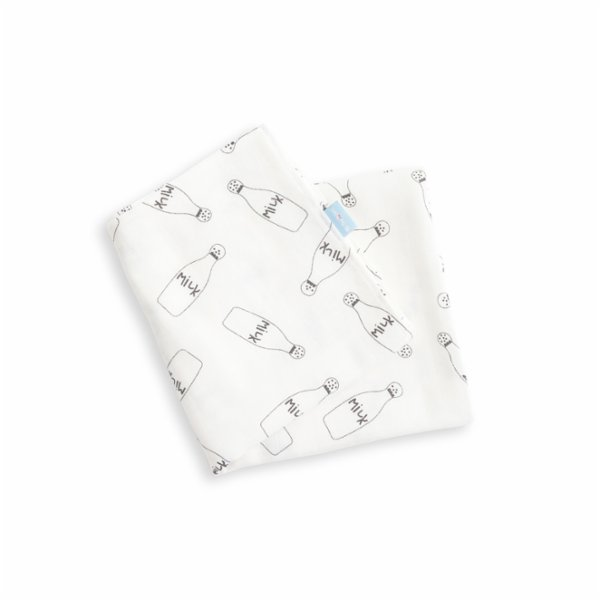 Hipopotam Baby Milk Muslin Mouth Cloth Set