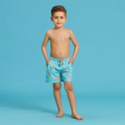 Fiji  Turquise Pineapple Boys Swimshorts