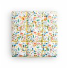 Hipopotam Baby Colorful Pencil Puzzle Cushion