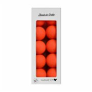 Boule De Petite  Neon Orange Lamp
