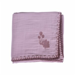 Miniyoki  Desert Bloom Double Sided 4 Layered Muslin Blanket