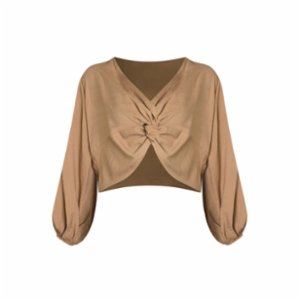 Rivus  Double Faced Twisted Top