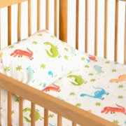 Hipopotam Baby  Dino Sheet and Pillow Set