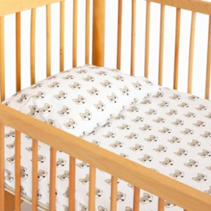 Hipopotam Baby  Little Fox Sheet and Pillow Set