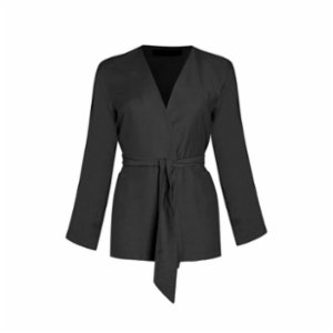 Rivus  Belted Viscose Jacket