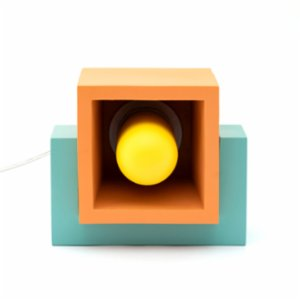 Womodesign  Marshmallow Concrete Wooden Lamp