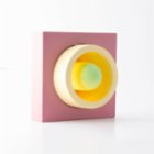 Womodesign Donut Concrete Wooden Lamp