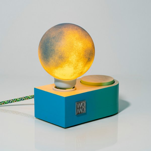 Womodesign Neptune - Wooden Colored Table Lamp