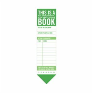 Knock Knock  Bookmark Pad: This is a Book