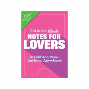 Knock Knock  Fill in the Love® Notes for Lovers