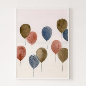 Wallthinks  Balloons Matt Fibre Printing