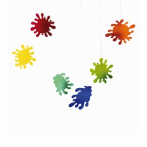 Flensted Mobiles  Splash Plexi Mobile