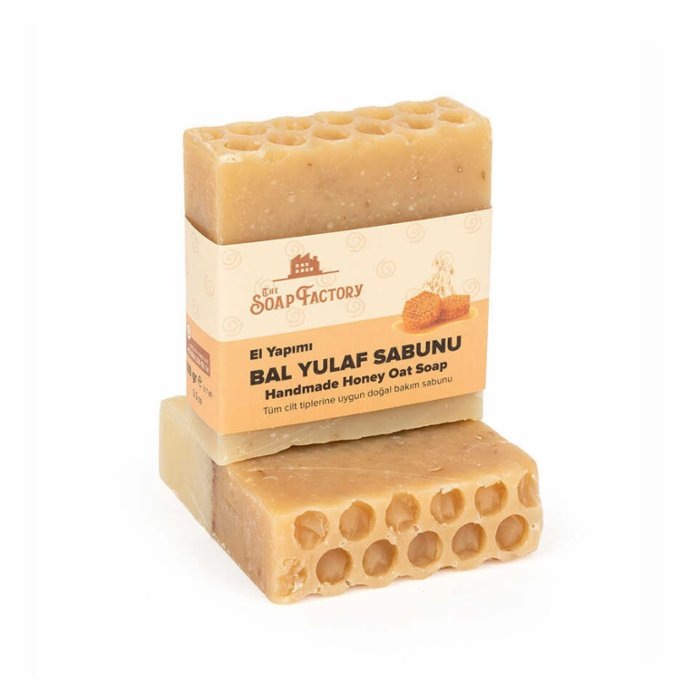 The Soap Factory Cold Processed Honey-Oat Soap