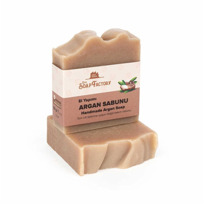 The Soap Factory Cold Processed Argan Soap