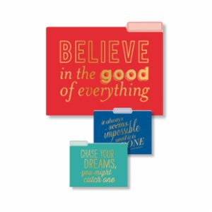 Eccolo  File Folder Collection Set of 9 Inspirations