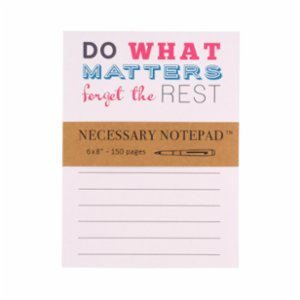 Eccolo  Necessary Notepad Do What Matters