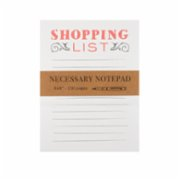 Eccolo  Necessary Notepad Shopping List