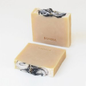 Bondia Soap Co.  Vegan Lavender Top with Activated Charcoral Soap