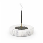 Coho Objet	  Crystal Carre Marble Incense Holder