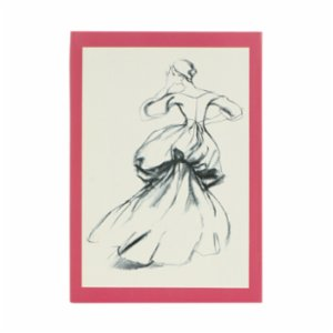Libretto  A6 Charles James: Beyond Fashion- Fashion Illustrations - Notebook