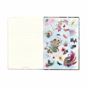 Libretto  B5 Zebra Girl - Hardbound Journal