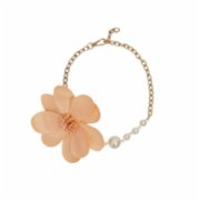 Baqa  Somon Flower Necklace