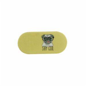 Funsy  Sliding Webcam Cover | Pug