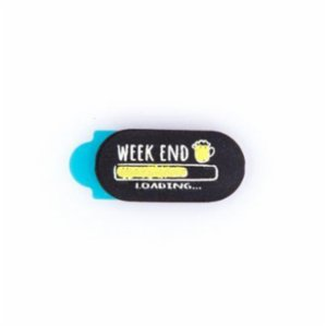 Funsy  Sliding Webcam Cover | Weekend Loading Mini