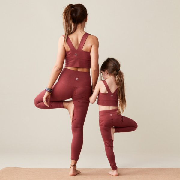 Lando Studio	 Organic Junior High Rise Legging