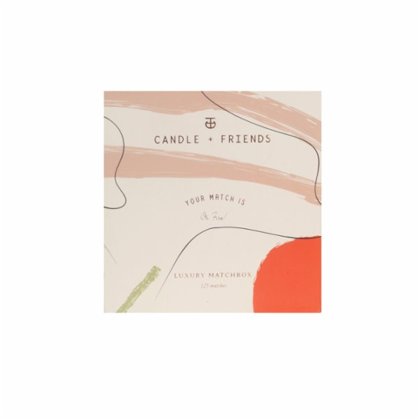 Candle and Friends No.2 Red Iris Luxury Matchbox