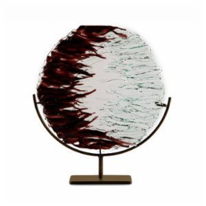 Saken Cam & Tasarım  Wave Glass Sculpture
