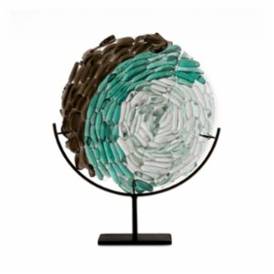 Saken Cam & Tasarım  Pebble Glass Sculpture