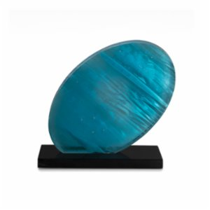Saken Cam & Tasarım  Sea Wave Glass Sculpture